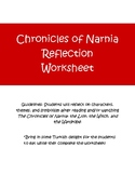 Chronicles of Narnia Reflection