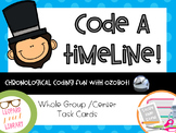 Chronological Coding-Code a Timeline with Abraham Lincoln
