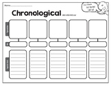Chronological Graphic Organizer