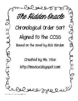 Chronological Order Guide for the Hidden Oracle
