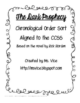 Chronological Order Sort for the Dark Prophecy