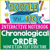 Chronological Order Text Structure Doodle Notes & Interact