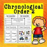 Chronological Order Worksheets 2