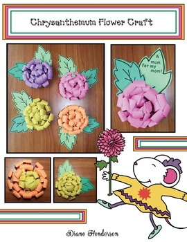 Chrysanthemum Flower Craft: Great For Mother's Day Too