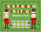 Chrsitmas Count the Room - 0 to 20