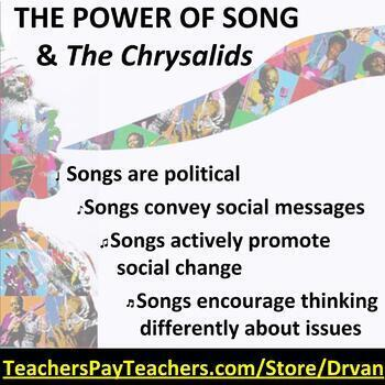 Chrysalids: Connecting the novel to popular culture song by Danny Michel