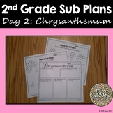 Chrysanthemum 2nd Grade Sub Plans Day 2
