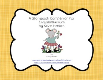 Chrysanthemum A Storybook Companion