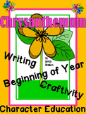 Chrysanthemum- A Beginning of the Year Kindness Craftivity and Writing Activity