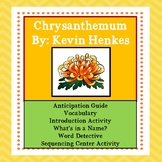 Chrysanthemum: Activities to Engage Readers