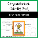 Chrysanthemum Activity Pack (Lower Elementary - NO PREP, Print & Go)