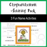 Chrysanthemum Activity Pack (Lower Elementary - NO PREP, P