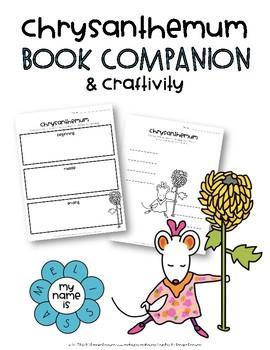Chrysanthemum Book Companion & Craftivity