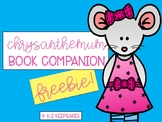 Chrysanthemum Book Companion FREEBIE!