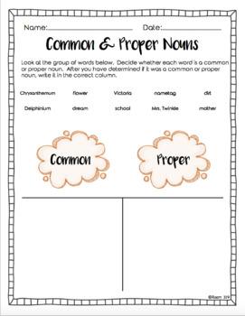 Chrysanthemum Book Study (Grammar, Activities, Printable, and Poem)
