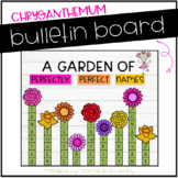 Chrysanthemum Bulletin Board Display