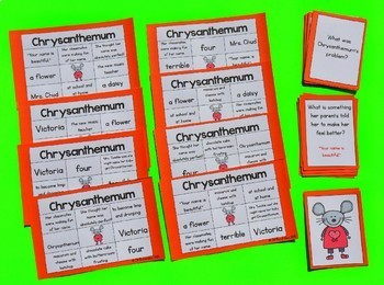 Chrysanthemum Activities  Book Companion Bundle!