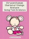 Chrysanthemum Character Change Analysis Using Text Evidence