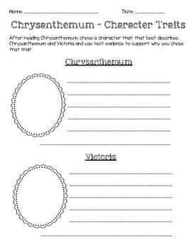 Chrysanthemum Character Trait Comparision