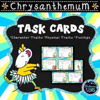 Chrysanthemum Character Trait Task Cards