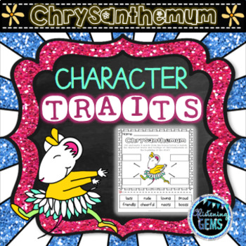 Chrysanthemum Character Trait Activities