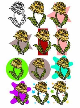 Chrysanthemum Cliparts