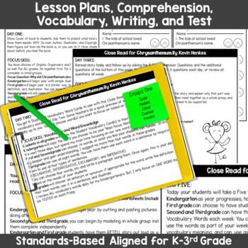 Chrysanthemum Interactive Read Aloud Unit