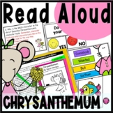 Chrysanthemum Read Aloud Book Activities with Lesson Plans