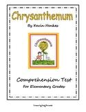 Chrysanthemum Comprehension