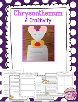 Chrysanthemum Craftivity and Printables