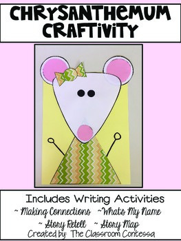 Chrysanthemum Craftivity and Writing