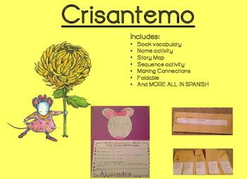 Chrysanthemum Crisantemo Activity Bundle