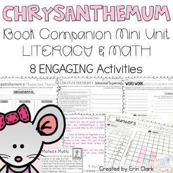 Chrysanthemum Curricular Companions {Language Arts & Math Activities}