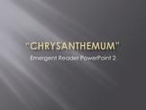 Chrysanthemum Emergent Storybook