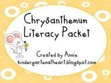 Chrysanthemum Kevin Henkes Literacy Packet
