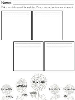Chrysanthemum (Kevin Henkes) Unit / Emergency Substitute Plans