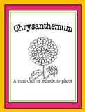 Chrysanthemum Kevin Henkes Unit or Emergency Substitute Plans