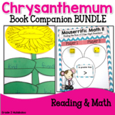 Chrysanthemum -- Reading Response, Comparing Numbers, Writing and 2 Craftivities