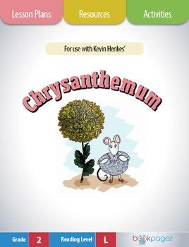 Chrysanthemum Lesson Plans & Activities Package, Second Grade (CCSS)