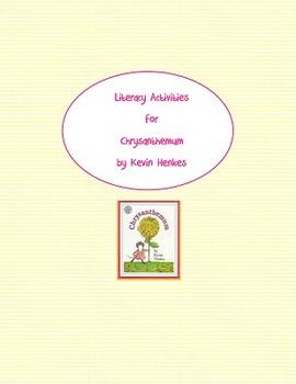 Chrysanthemum Literacy Activities second grade