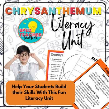 Chrysanthemum Literacy Unit
