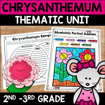 Chrysanthemum Name Activities and Lesson