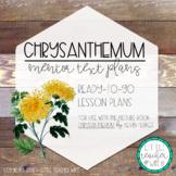 Chrysanthemum - Mini Lesson Plans with No-Prep Printables