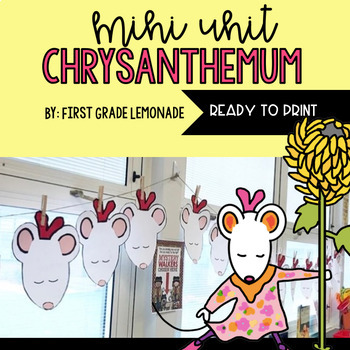 Chrysanthemum Mini Unit & Craftivity