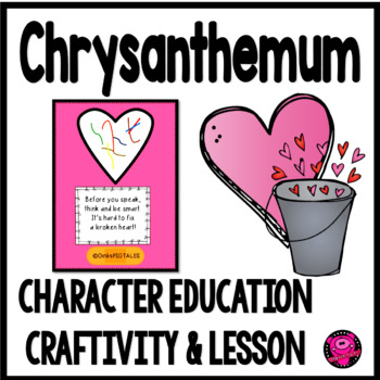 CHRYSANTHEMUM PRINT and GO LESSON on KINDNESS