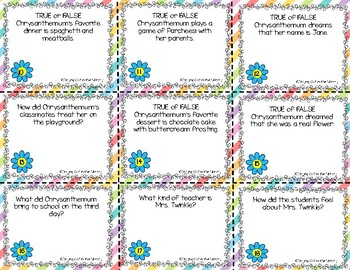 Chrysanthemum - Printables and Activities