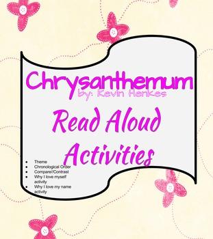 Chrysanthemum Read Aloud Activities