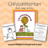 Chrysanthemum Read Aloud Activity {First Day of School}