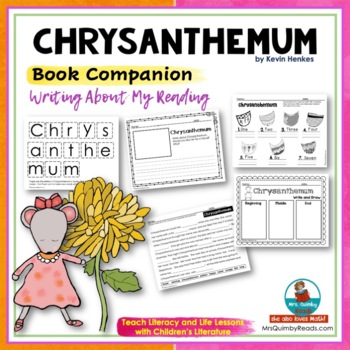 Chrysanthemum | Reader Response Pages | [Writing Prompts] |Book Companion