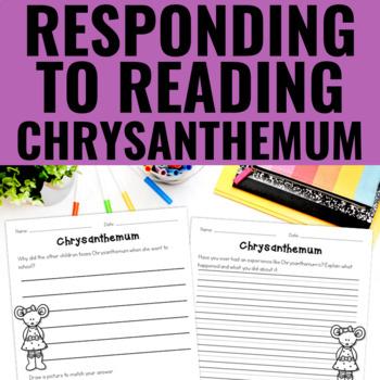 Chrysanthemum - Reading Response